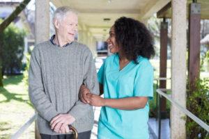 In-Home Health Care in Denver, Colorado   Happy Senior Client